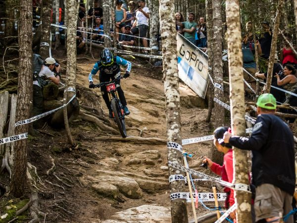 Jackson Leads Giant With Top-10 at Crankworx DH