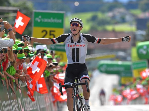 Kragh Andersen Wins Stage 6 at Tour de Suisse!