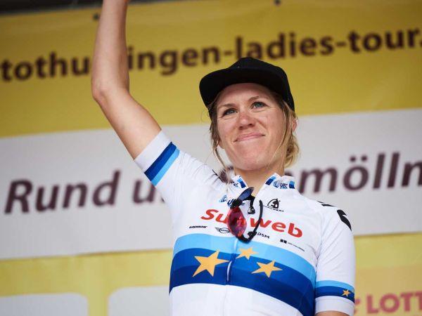 Ellen Van Dijk Wins Final Stage of Lotto Thüringen!