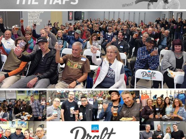Strong Turnout for Draft Event at Giant Bicycles