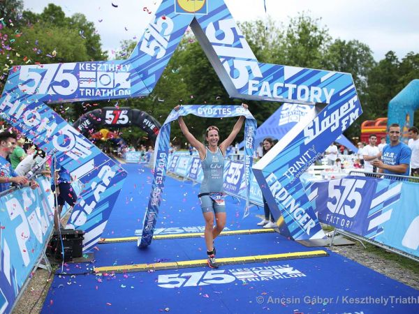 Radka Kahlefeldt Wins Keszthely Triathlon!
