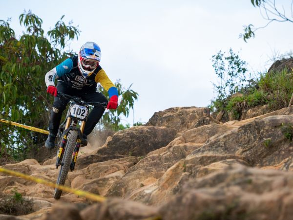 Gutierrez Wins Colombia National Games DH!