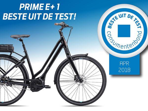 De Prime E+ 1 als beste getest!