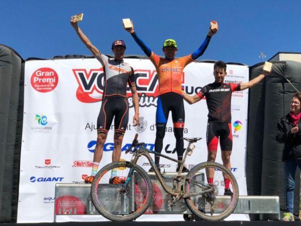 Leonardo Paez e' il vincitore della prima tappa della VolCAT Spagna
