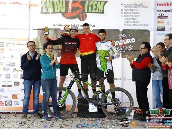 Nacho Valverde 7º scratch y el mejor Junior en el Enduro de Bítem.