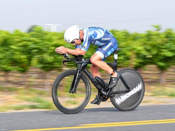 Appleton Wins Ironman 70.3 Santa Rosa!
