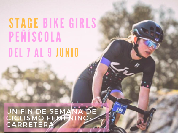 STAGE BIKE GIRLS Peñíscola con Arantxa Salvadó.