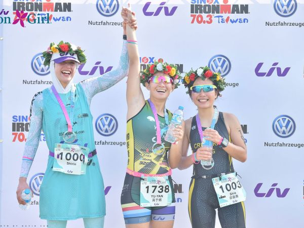 Liv Cycling Sponsors Iron Girl Triathlon in Taiwan