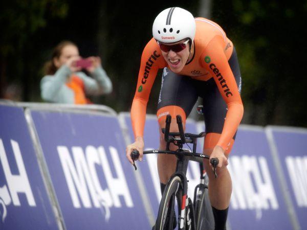 Ellen Van Dijk Wins European Time Trial Championship!