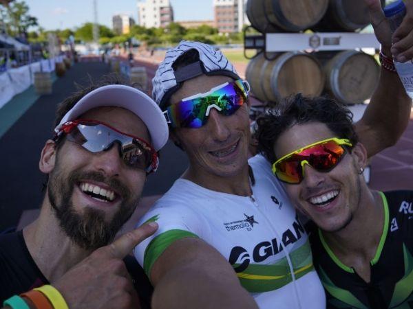 Gustavo Rodríguez gana el Triatlón de la Rioja en su vuelta a la competición en tierras nacionales.