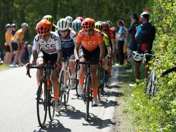 Vos Sprints to Third at Amstel Gold Race!