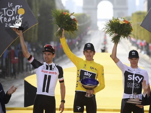 Team Sunweb Finishes Tour with Dumoulin on the Podium!