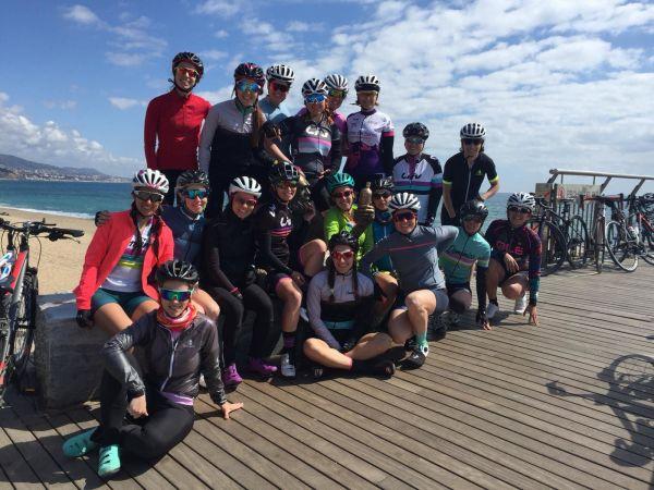 Liv Ride con Arantxa Salvadó y Domenica Women´s Cycling.