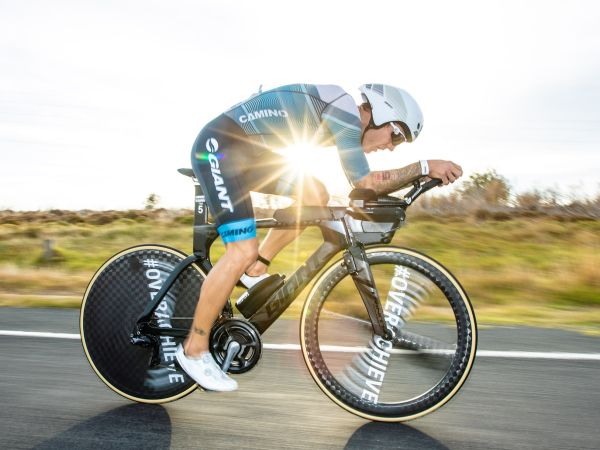 Berkel Sprints to Podium at Ironman 70.3 Geelong!