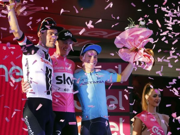 Dumoulin Powers to Podium at Giro d'Italia!