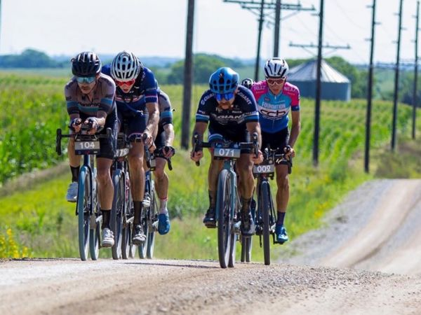 Uhl Rides to Podium at Gravel World...