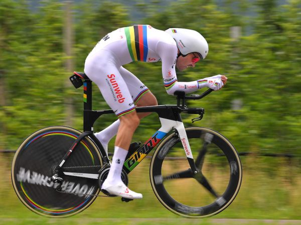 Dumoulin Gains Time in Key TT Stage at Giro d'Italia!
