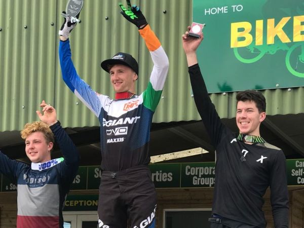 Dickson Repeats as Irish National DH Champ!