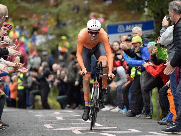 Champion du monde ! Tom Dumoulin remporte le titre en Norvège !