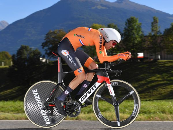 Dumoulin Wins Silver at Road Worlds Time Trial!