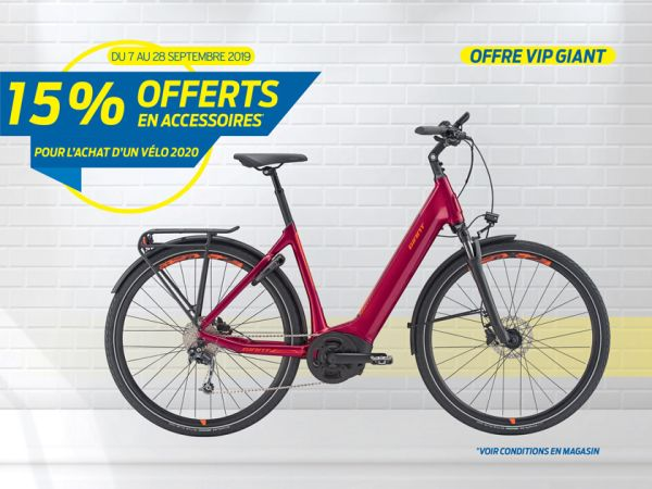 Offre Giant VIP 2019 !