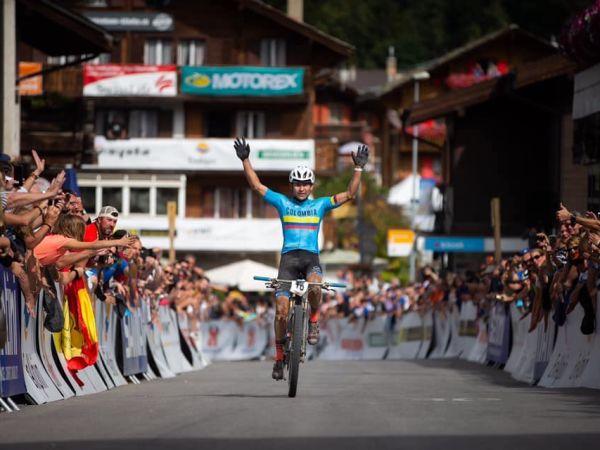 Leonardo Páez, MTB 마라톤 월드 챔피언쉽 우승!