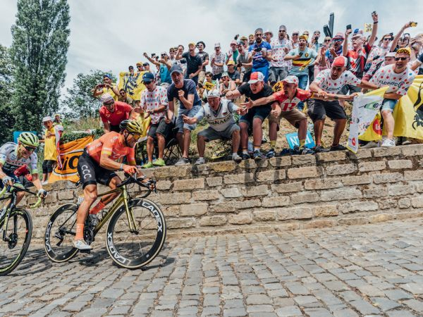 Van Avermaet, Tour de France 첫 경기에서...