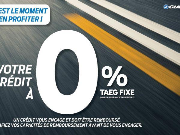 Opération Financement TAEG 0% !!
