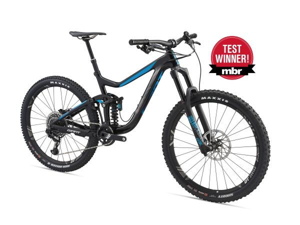 Reign Advanced Wins 2018 MBR Enduro Bike Test!