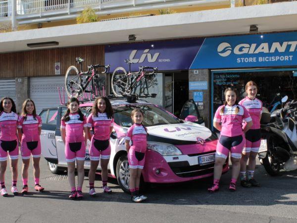 Giant LIV Store Bicisport sponsorizza Team Ciclistica Bordighera LIV