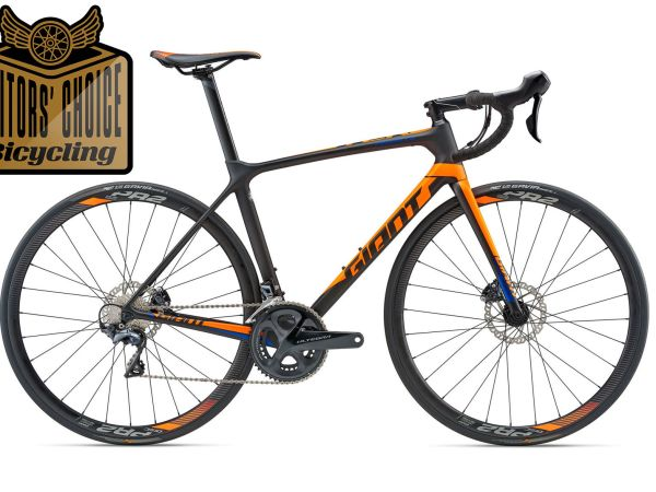Bicycling Selects TCR Advanced Disc for Editors' Choice Award!