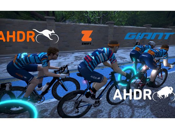 Join Giant on Zwift for our AHDR Events!
