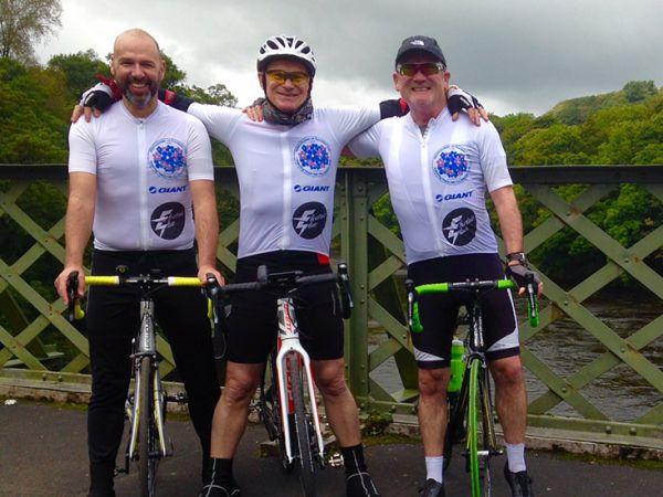 Road-E Conquers Charity Ride
