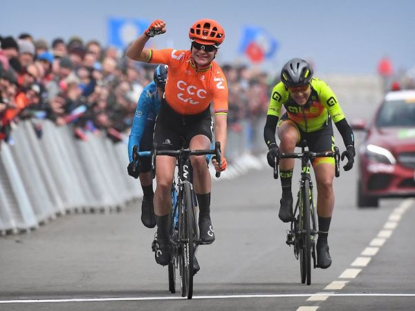 Vos Wins Women's Tour de Yorkshire!