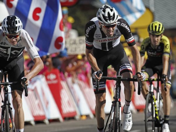 Dumoulin Climbs to 2nd at Tour's First Summit Finish!