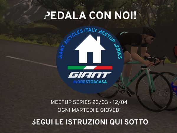 Giant Bicycles Italy Meetup Series: WEEK 2