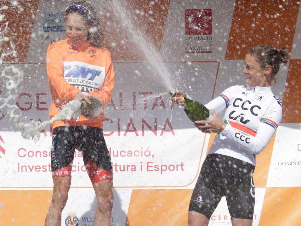 Ashleigh Moolman Pasio Third Overall at Setmana Ciclista Valenciana!