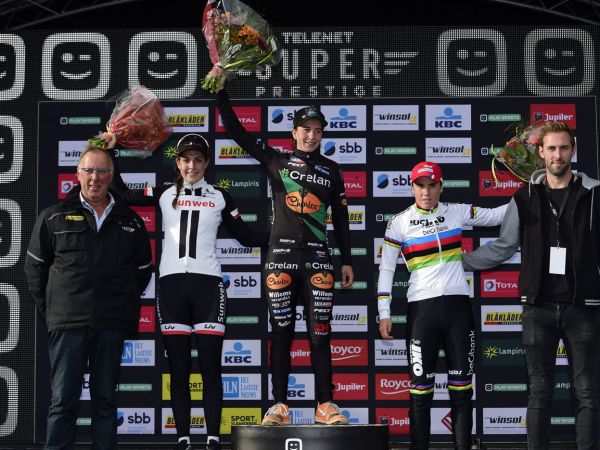 Lucinda Brand Lands Superprestige Podium!