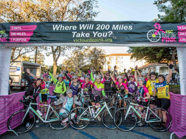 Tour de Pink Charity Rides Raise More Than $1.3 Million!