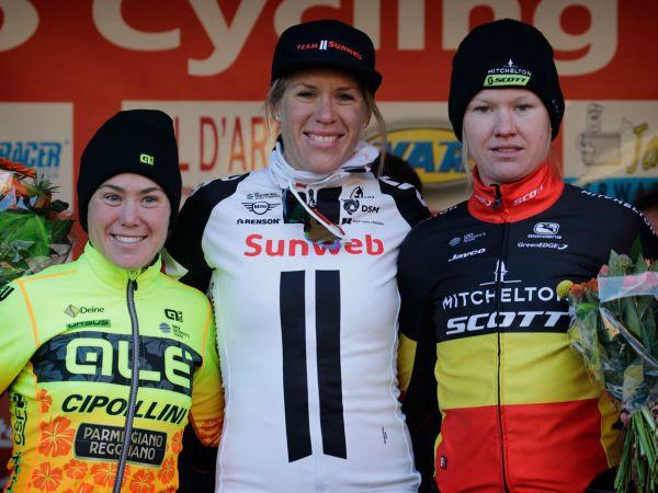 Ellen Van Dijk Solos to First Win of Road Season!