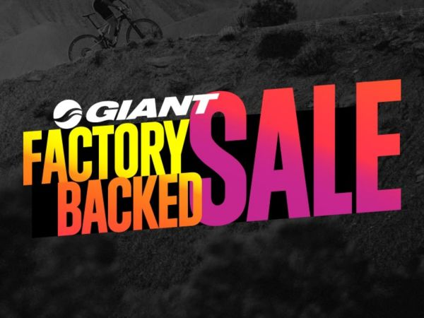 Giant factory backed sale now on!