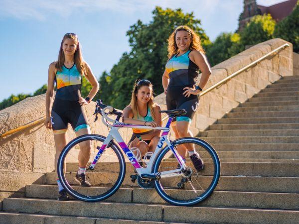 Przygoda z triathlonem: poznaj Anię, Olę i Ulę