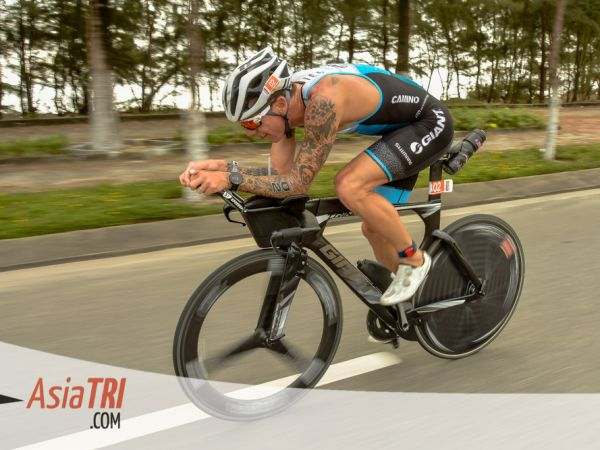 Van Berkel Podiums at Ironman 70.3 Vietnam!