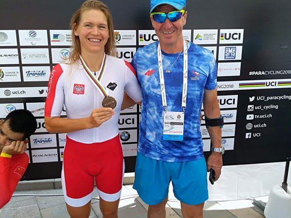 Anna Harkowska z brązowym medalem Mistrzostw Świata w Parakolarstwie s...