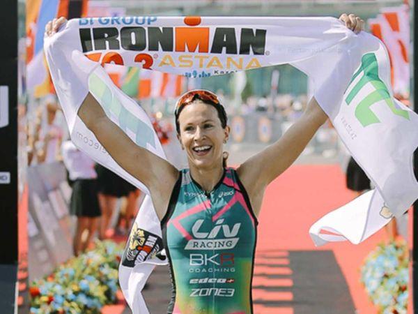 Kahlefeldt, Ironman 70.3 Astana 우승!
