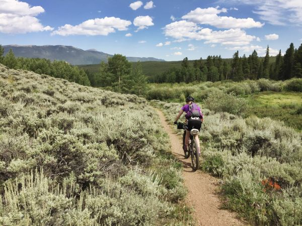 Bike Packing on the Colorado Trail