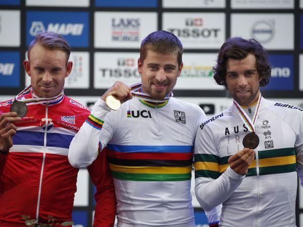 Matthews si je priboril bronasto medaljo na svetovnem prvenstvu v cestnih dirkah!