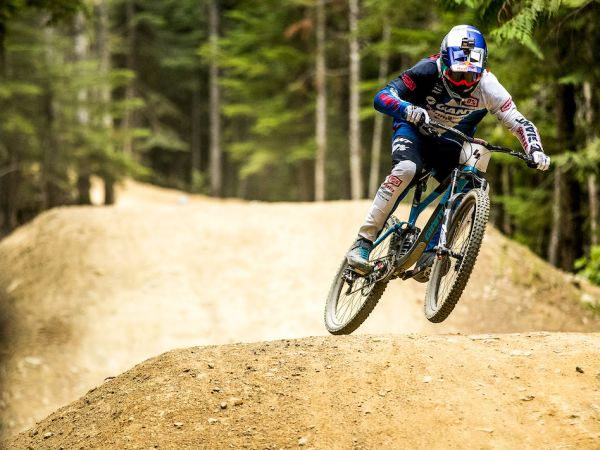 Gutierrez Makes Podium at Crankworx Air DH Event!