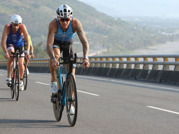 Van Berkel Scores Second Straight Ironman 70.3 Podium!
