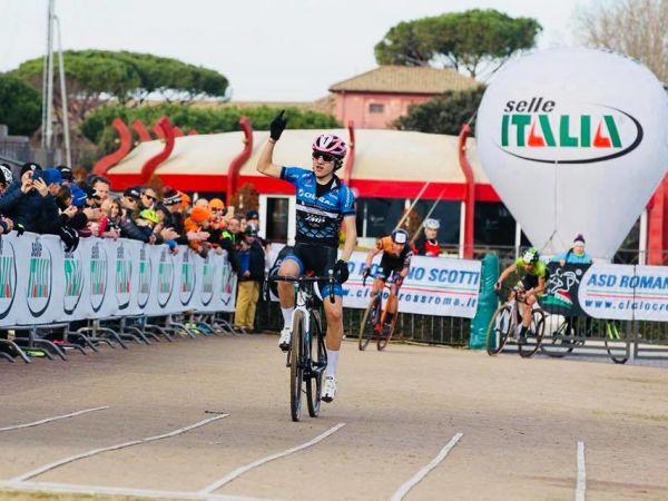 Filippo Fontana del Team Trentino Cross Giant SMP Campione Italiano Ci...